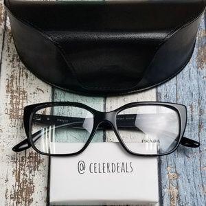 Prada VPR 08T 1AB-101 Acetate Eyeglasses/VIL414